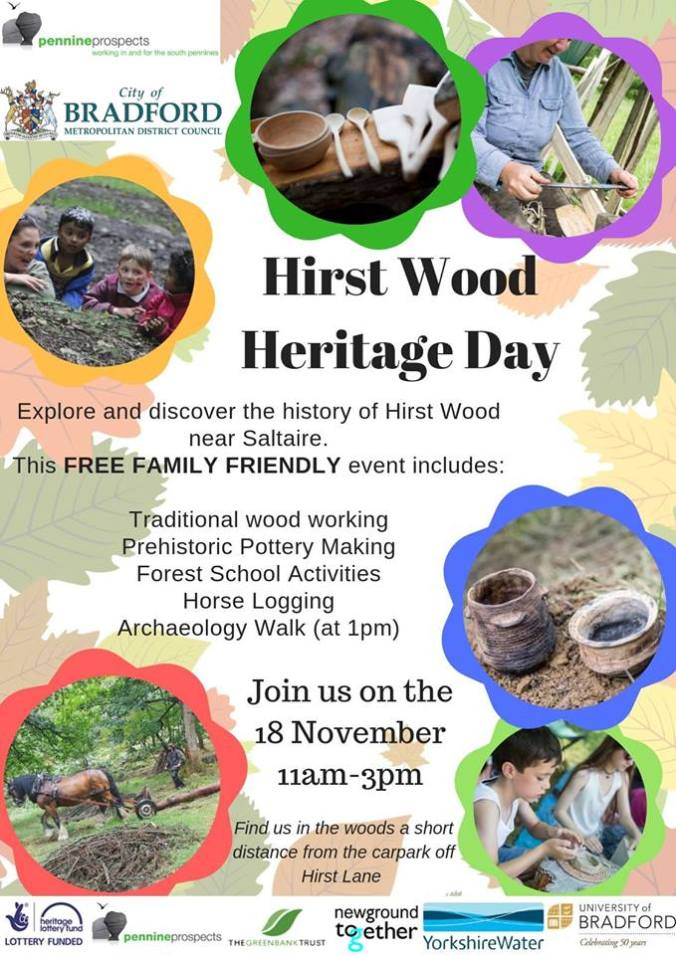 Hirst Wood Heritage Day
